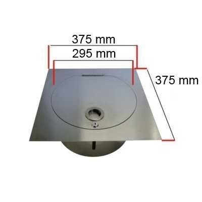 kg w scheabwurf system aus kunststoff pvc 300 mm. Black Bedroom Furniture Sets. Home Design Ideas
