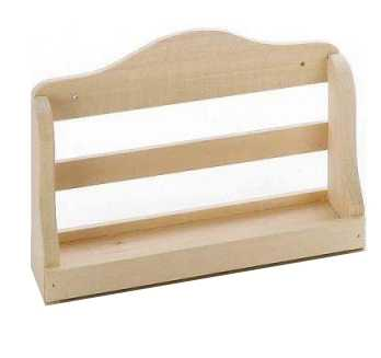 sauna wandregal aus holz 21 cm 2135. Black Bedroom Furniture Sets. Home Design Ideas