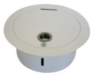 waescheabwurf kg system einwurftuer oben rund edelstahl f rohr 300mm 3009. Black Bedroom Furniture Sets. Home Design Ideas